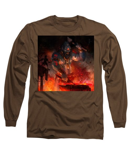 Maker Of The World Long Sleeve T-Shirt by Ryan Barger