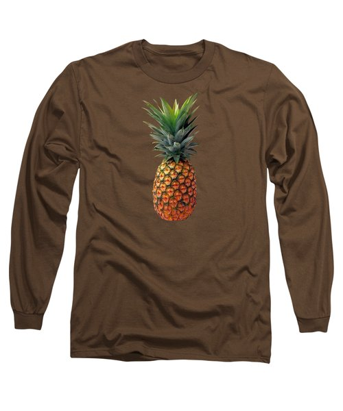 Pineapple Long Sleeve T-Shirt by T Shirts R Us -