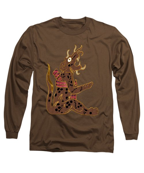 The Leopard Man Mayan Long Sleeve T-Shirt by Sharon and Renee Lozen