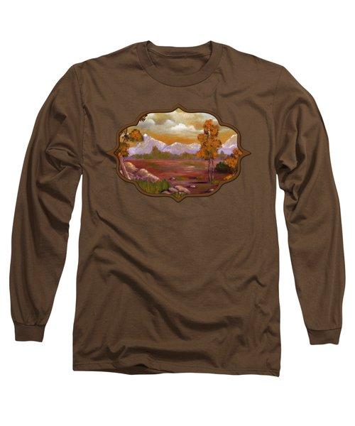 Unpredictable Weather Long Sleeve T-Shirt by Anastasiya Malakhova