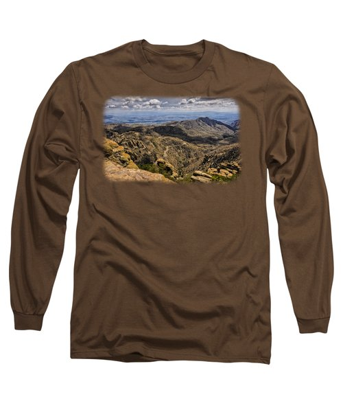 Windy Point No.1 Long Sleeve T-Shirt by Mark Myhaver