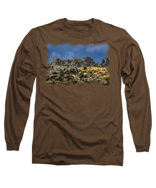 Windy Point No.7 Long Sleeve T-Shirt by Mark Myhaver