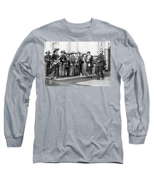 Cowboy Band, 1929 Long Sleeve T-Shirt by Granger