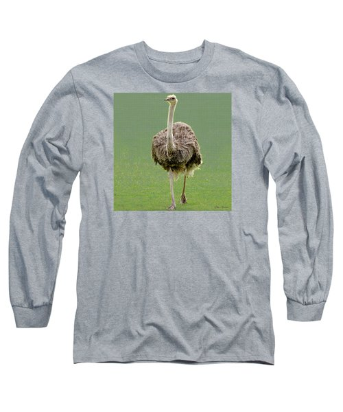 Emu Long Sleeve T-Shirt by Ellen Henneke