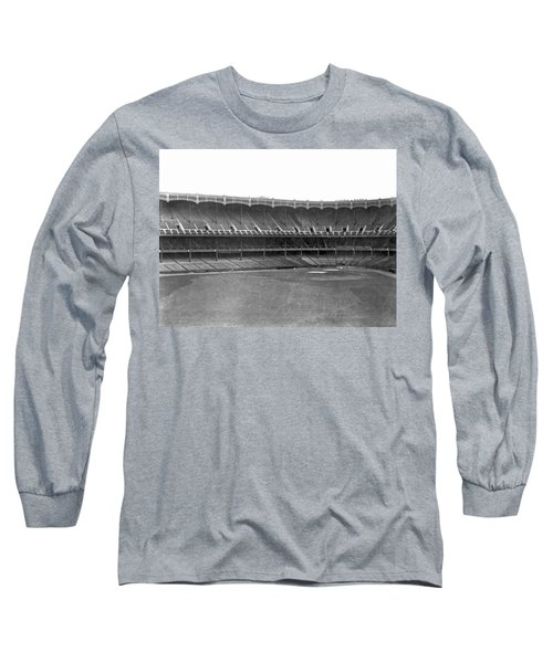 New Yankee Stadium Long Sleeve T-Shirt by Underwood Archives