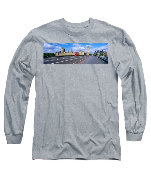 Parliament Big Ben London England Long Sleeve T-Shirt by Panoramic Images
