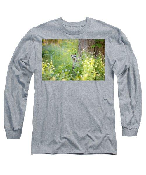 Peek A Boo Long Sleeve T-Shirt by Carrie Ann Grippo-Pike