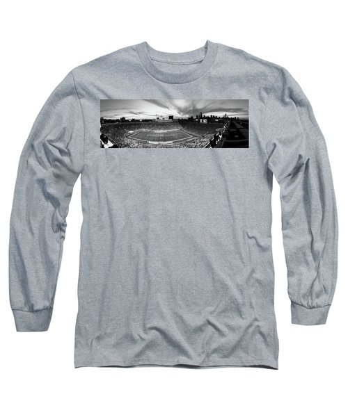Soldier Field Football, Chicago Long Sleeve T-Shirt by Panoramic Images