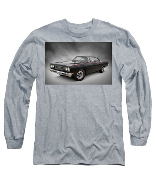 '69 Roadrunner Long Sleeve T-Shirt by Douglas Pittman