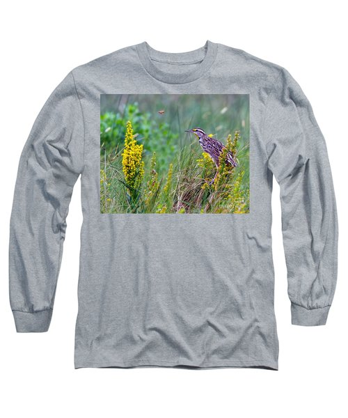 A Golden Opportunity Long Sleeve T-Shirt by Gary Holmes