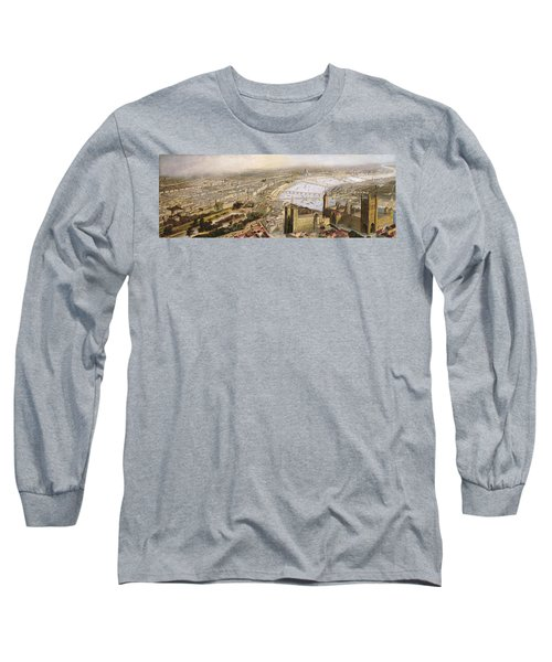 A Panoramic View Of London Long Sleeve T-Shirt by English School