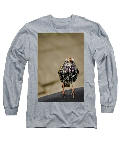Angry Bird Long Sleeve T-Shirt by Heather Applegate
