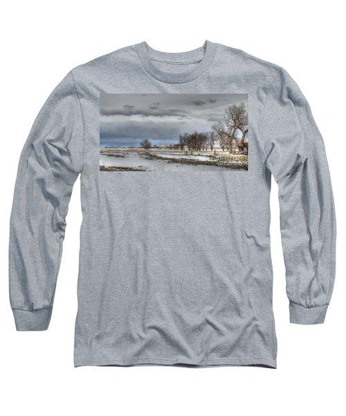 Long Sleeve T-Shirt featuring the photograph Ardmore Prairie by Bill Gabbert