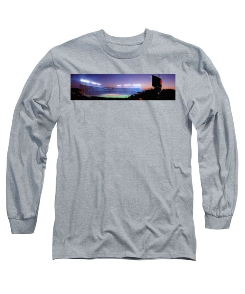 Baseball, Cubs, Chicago, Illinois, Usa Long Sleeve T-Shirt by Panoramic Images