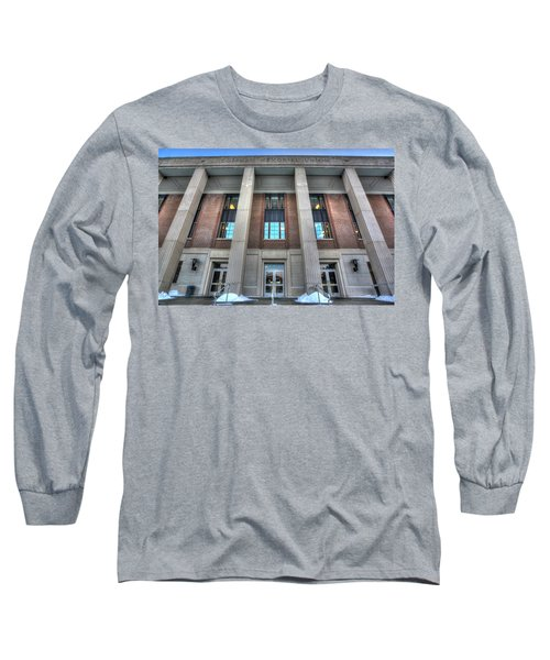Coffman Memorial Union Long Sleeve T-Shirt by Amanda Stadther