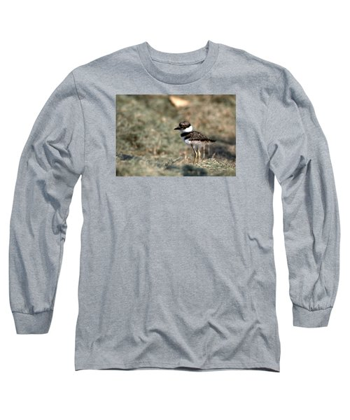 Its A Killdeer Babe Long Sleeve T-Shirt by Skip Willits