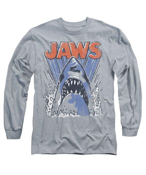 Jaws - Comic Splash Long Sleeve T-Shirt by Brand A