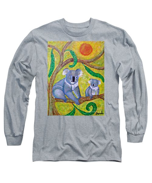 Koala Sunrise Long Sleeve T-Shirt by Sarah Loft
