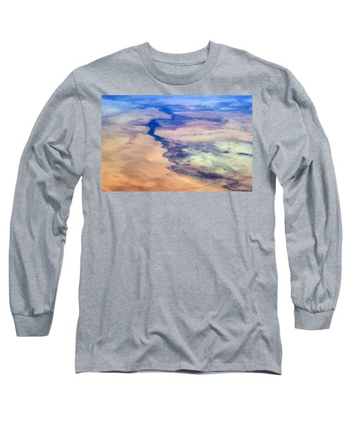 Long Sleeve T-Shirt featuring the photograph Nile River From The Iss by Science Source