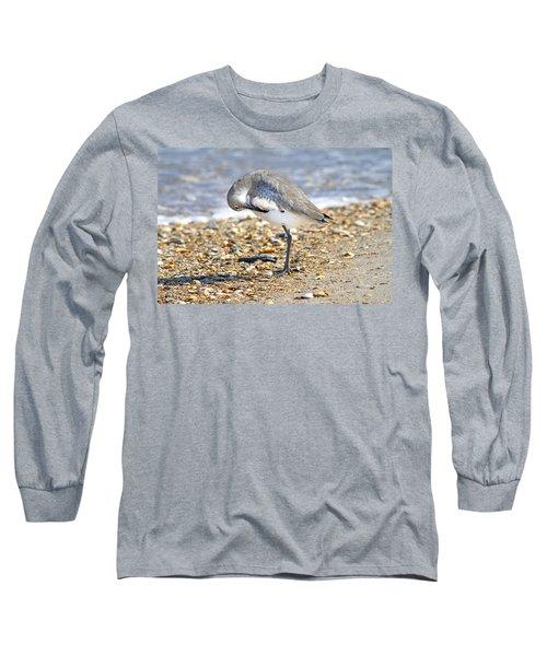 Sandpiper Long Sleeve T-Shirt by Betsy Knapp