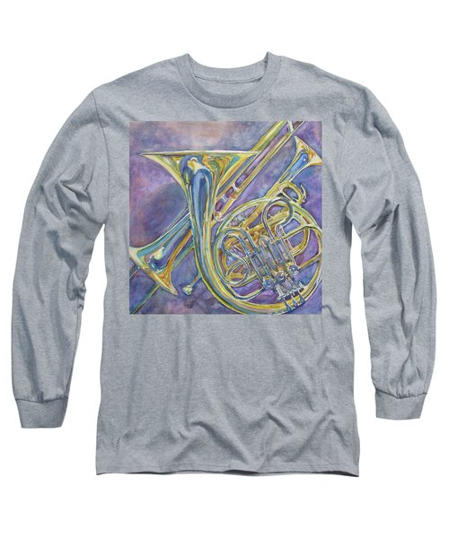 Three Horns Long Sleeve T-Shirt by Jenny Armitage