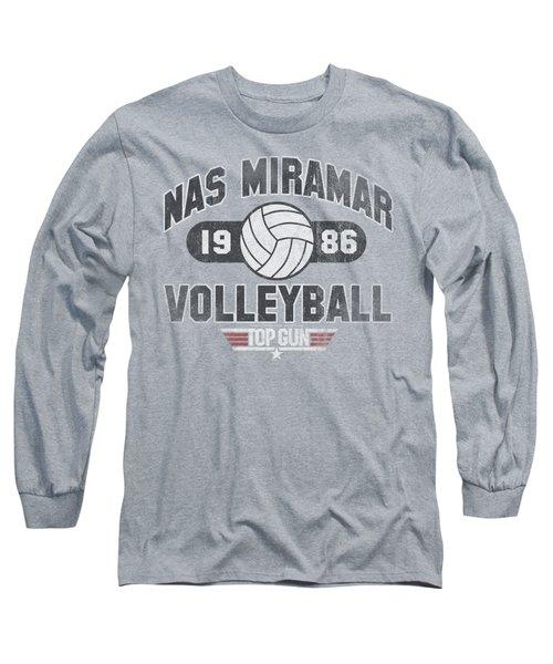 Top Gun - Nas Miramar Volleyball Long Sleeve T-Shirt by Brand A