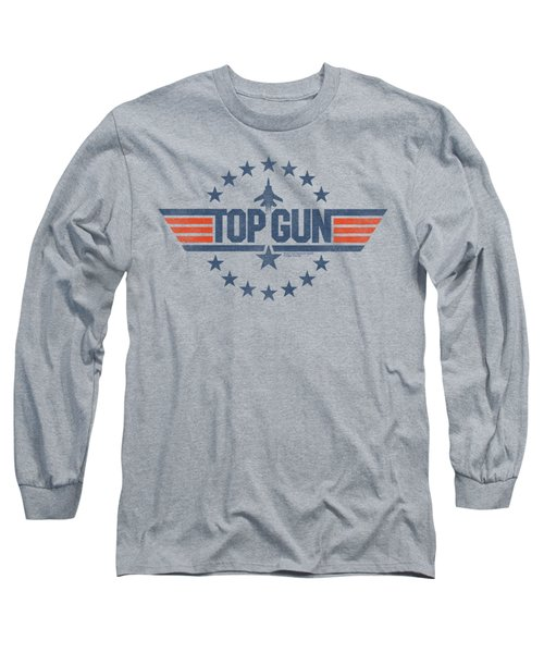 Top Gun - Star Logo Long Sleeve T-Shirt by Brand A