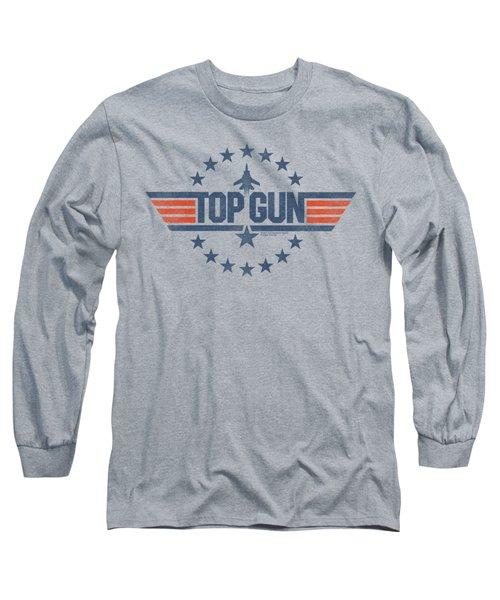 Top Gun - Star Logo Long Sleeve T-Shirt by Brand A