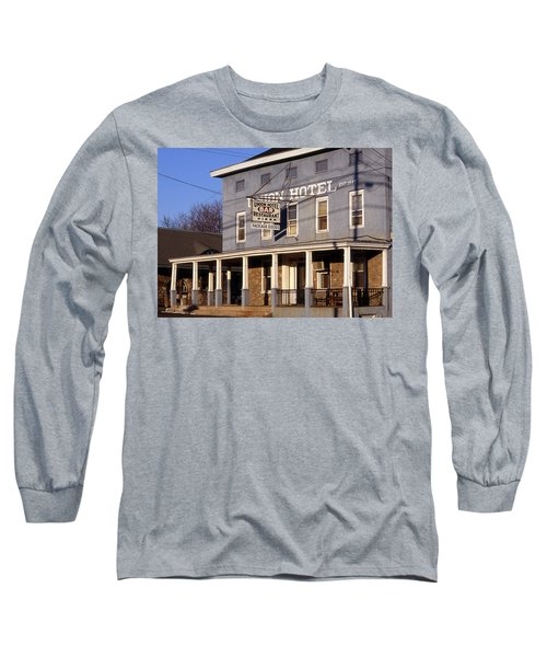 Union Hotel Long Sleeve T-Shirt by Skip Willits