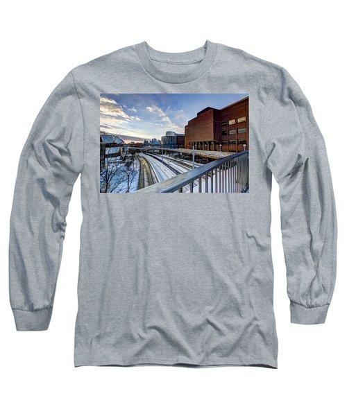 University Of Minnesota Long Sleeve T-Shirt by Amanda Stadther