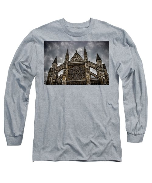 Westminster Abbey Long Sleeve T-Shirt by Martin Newman