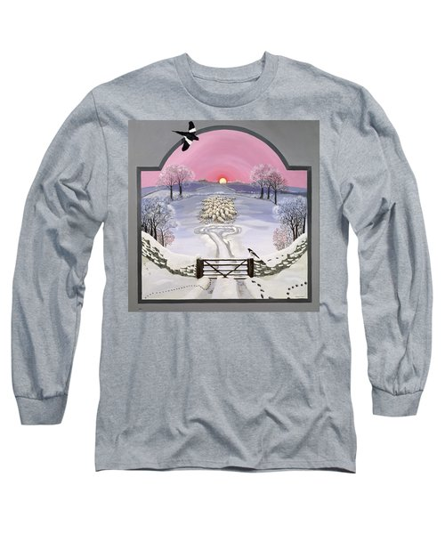 Winter Long Sleeve T-Shirt by Maggie Rowe