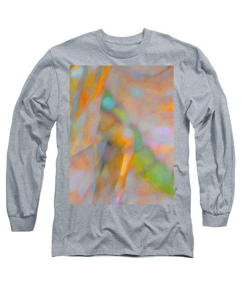 Long Sleeve T-Shirt featuring the digital art Comfort by Richard Laeton