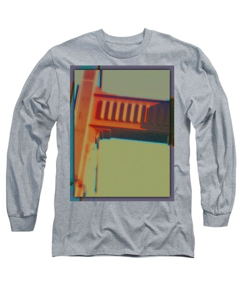 Long Sleeve T-Shirt featuring the digital art Coming In by Richard Laeton