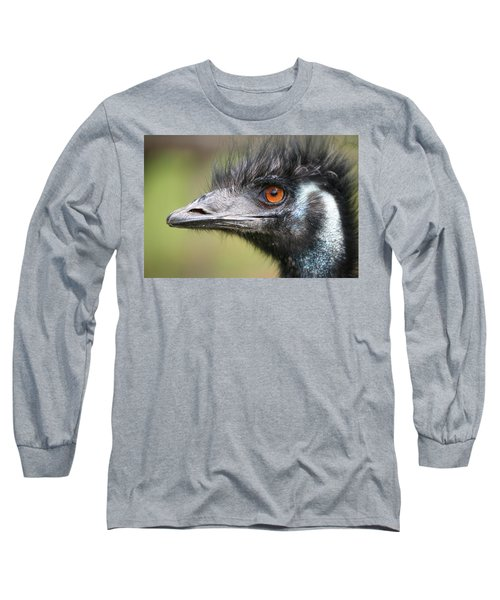 Emu Long Sleeve T-Shirt by Karol Livote