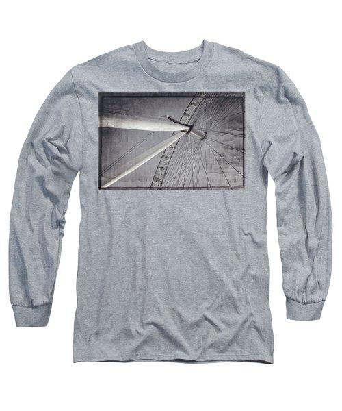 Eye On London Long Sleeve T-Shirt by Joan Carroll