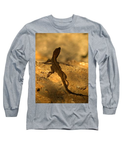 Leapin' Lizards Long Sleeve T-Shirt by Trish Tritz