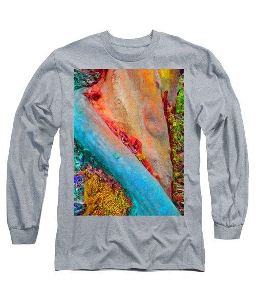 Long Sleeve T-Shirt featuring the digital art New Way by Richard Laeton