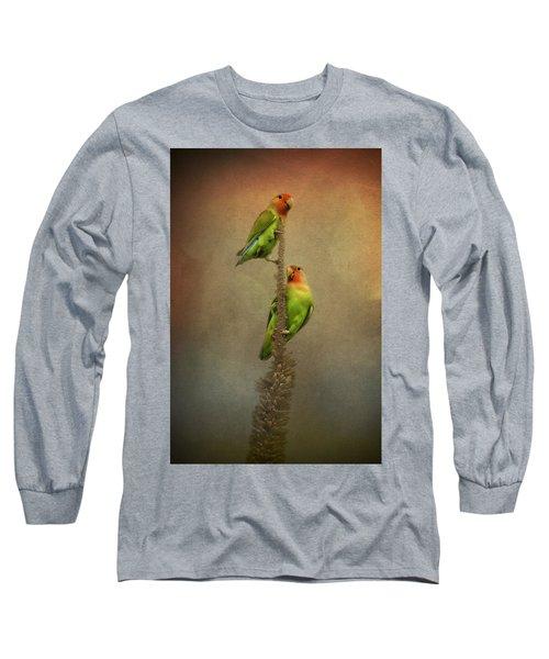 Up And Away We Go Long Sleeve T-Shirt by Saija  Lehtonen