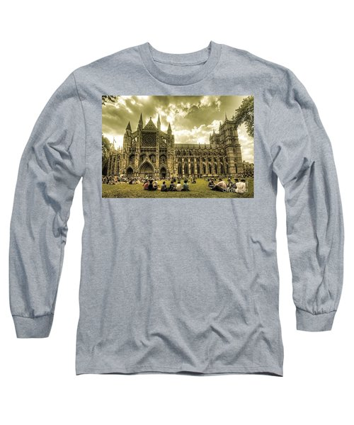 Westminster Abbey Long Sleeve T-Shirt by Rob Hawkins