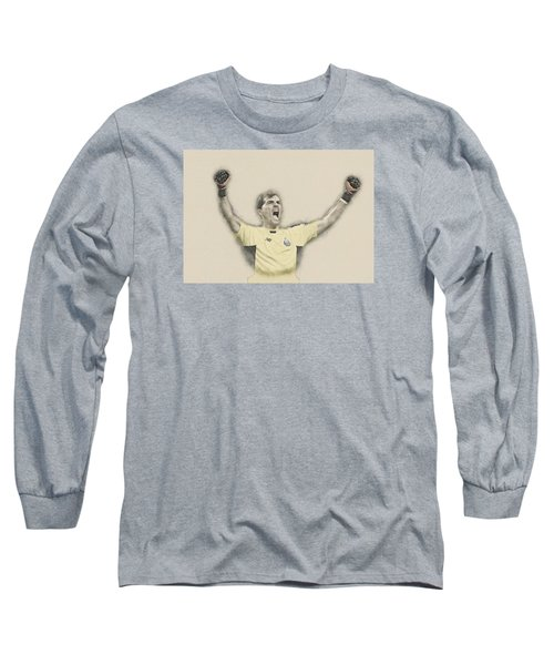 Iker Casillas  Long Sleeve T-Shirt by Don Kuing