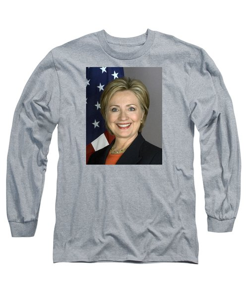 Hillary Clinton Long Sleeve T-Shirt by War Is Hell Store