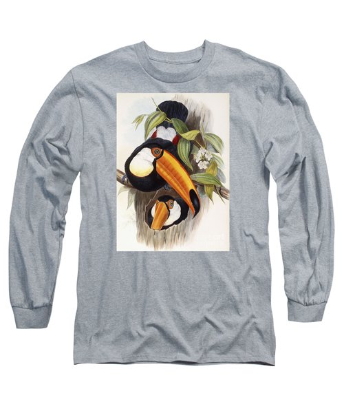 Toucan Long Sleeve T-Shirt by John Gould