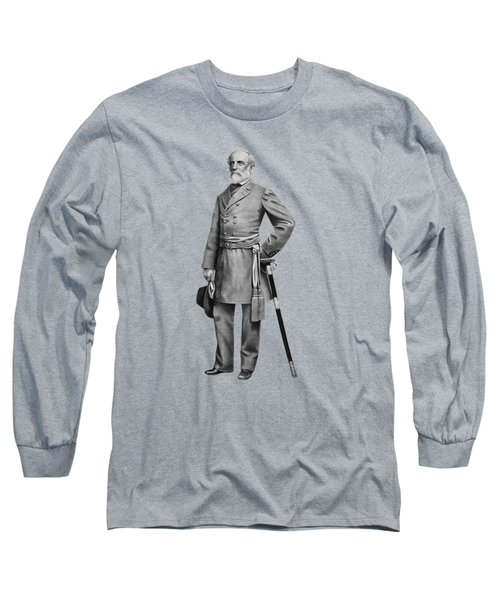 General Robert E. Lee Long Sleeve T-Shirt by War Is Hell Store