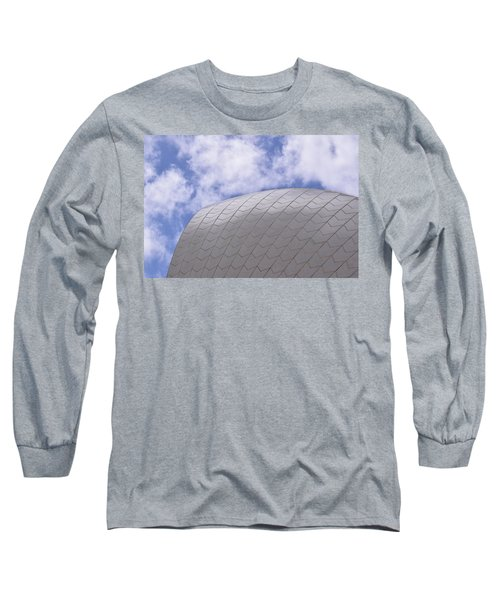 Sydney Opera House Roof Detail Long Sleeve T-Shirt by Sandy Taylor