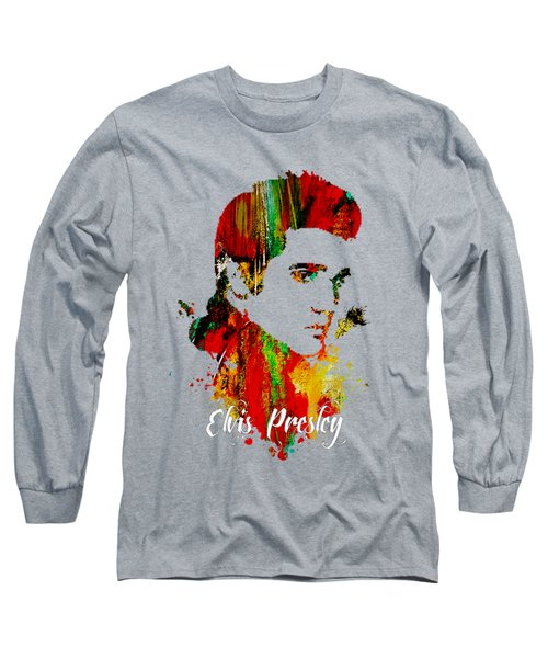 Elvis Presley Collection Long Sleeve T-Shirt by Marvin Blaine