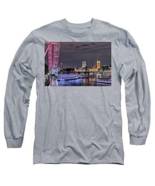 Westminster - London Long Sleeve T-Shirt by Joana Kruse