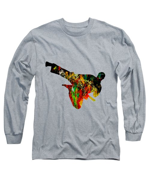 Martial Arts Collection Long Sleeve T-Shirt by Marvin Blaine