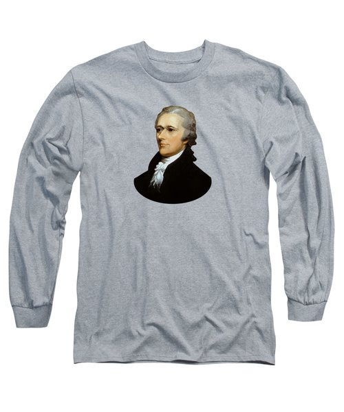 Alexander Hamilton Long Sleeve T-Shirt by War Is Hell Store