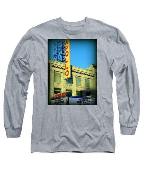 Apollo Vignette Long Sleeve T-Shirt by Ed Weidman